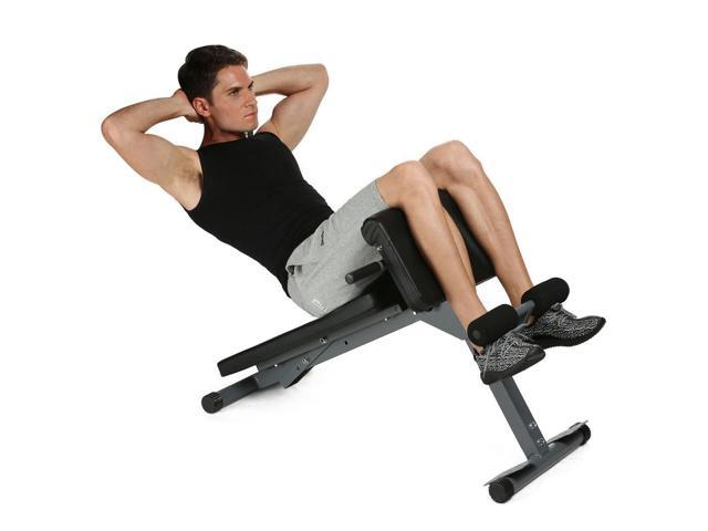ANCHEER Health Fitness Stamina Pro Ab Core StrengthMulti-Workout Abdominal/Hyper Back Extension Bench