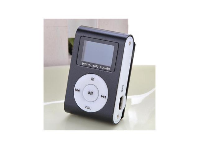 Mini LCD Screen Clip USB MP3 Music Player Support 2-32GB Micro SD TF Card