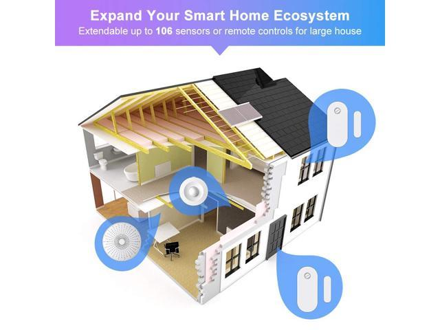 eco4life by Sonicgrace WiFi Wireless Smart Home Security