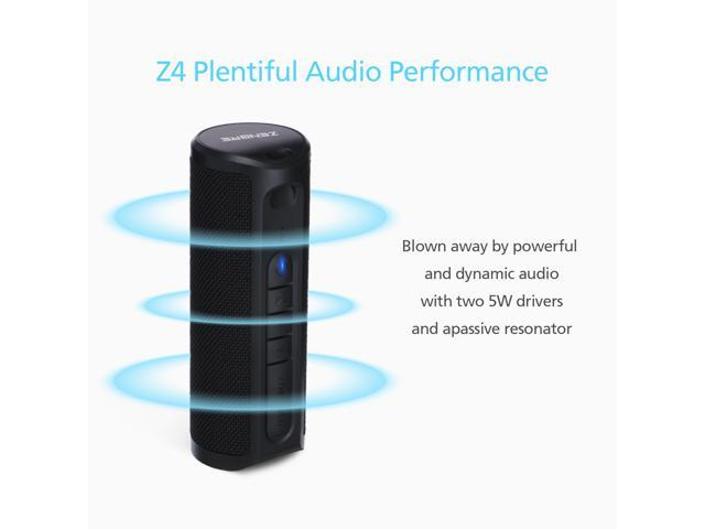 ZENBRE Z4 TWS Portable Bluetooth Speaker (Black)