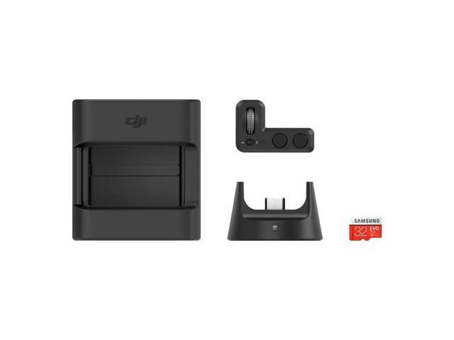 DJI Osmo Pocket Expansion Kit Accessories Set Gear Pack, includes Controller Wheel, Wireless Module, Accessory Mount, SD Card