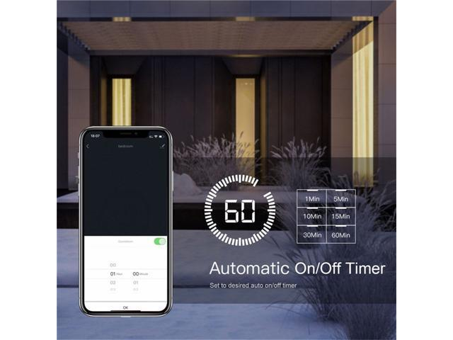 3 Way WiFi Smart Light Switch Light Fan Control APP remote