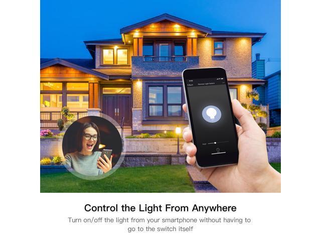 US WiFi Smart Light Switch Control by Smart Life/Tuya APP
