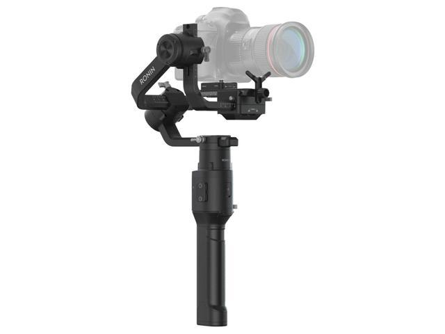 DJI Ronin-S Essentials Kit 3-Axis Gimbal Stabilizer for Mirrorless and DSLR Cameras, Comes 128GB Micro SD, Tripod,1 Year Limited Warranty, Black (CP.RN.00000033.01)