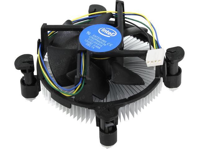 Intel E97379-003 CPU Cooler Socket 1156/1155/1150 4 Pin Aluminum Heat Sink Fan Supports Intel Core i3/i5/i7 with 5 Year Warranty