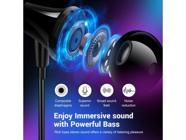 Oneodio A15 Neckband Bluetooth Headphone Wireless Earphones With HD Mic Metal Stereo Sport Handsfree Earbuds Headset For Phone