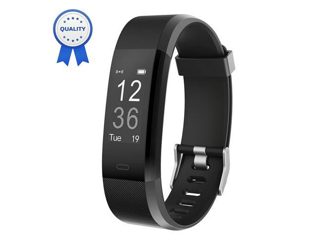 Fitness Tracker Waterproof, Touch Screen Activity SmartWatch Heart Rate Monitor Tracker Bluetooth Pedometer Calorie Counter ,Smart Bracelet Sleep Monitor for iPhone Samsung HuaWei Android  iOS Blue