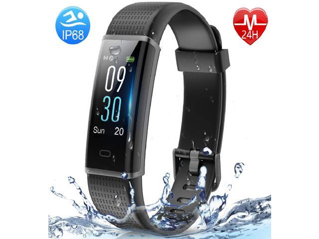Muzili Fitness Tracker, Activity Color Screen Tracker with IP68 Waterproof for Shower, 14 Sports Modes,GPS tracker, Intelligent Notification, Pedometer for Men, Women and Children