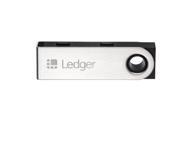 Ledger Nano S - Cryptocurrency Hardware Wallet - Bitcoin, Ethereum, Ripple, Altcoins ERC Tokens