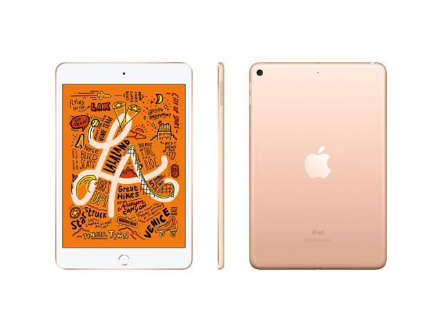 """Apple 7.9"""" iPad mini (Early 2019, 64GB, Wi-Fi Only, Gold)"""