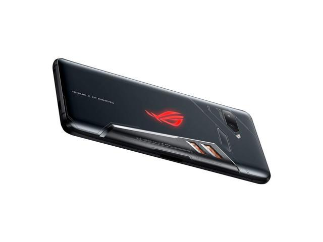 ASUS ROG Phone (ZS600KL) 8GB / 128GB 6.0-inches LTE Dual SIM Factory Unlocked - International Stock (Black)