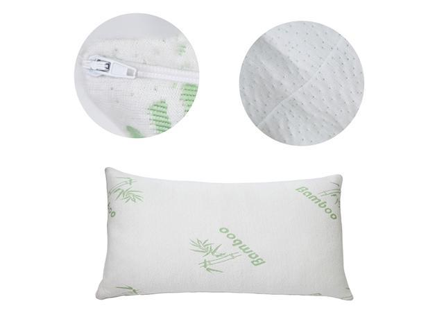 King Memory Foam Pillows with Bamboo Covers