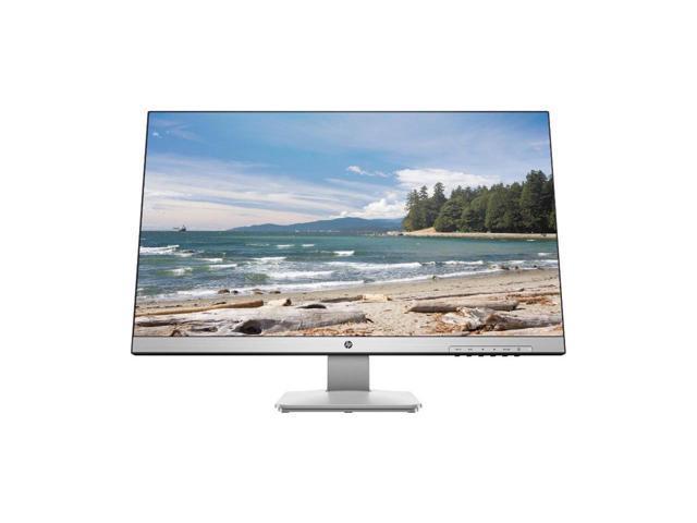 "Refurbished: HP 27q 3FV90AA#ABA Black/Silver 27"" 5ms (GTG) HDMI Widescreen LED Backlight LCD/LED Monitor 350 cd/m2 SC 10,000,000:1 (1,000:1)"