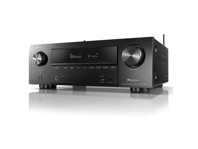Refurbished: Denon AVR-X1500H 7.2-Channel 4K Ultra HD AV Receiver with HEOS