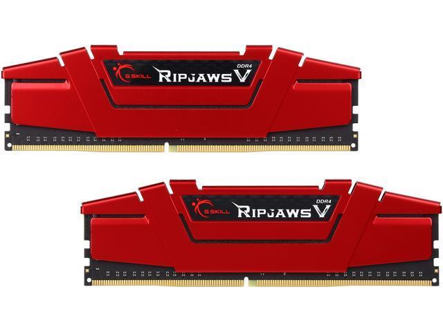G.SKILL F4-2800C15D-8GVR (2 x 4GB) PC4-22400 2800MHz DDR4 288-Pin DIMM Desktop Memory