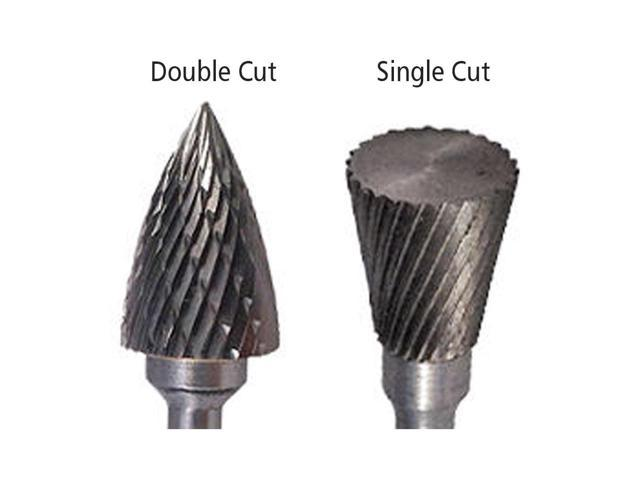 SD-9 Double Cut Carbide Bur Die Grinder Bit 1 on 1//4 Shank