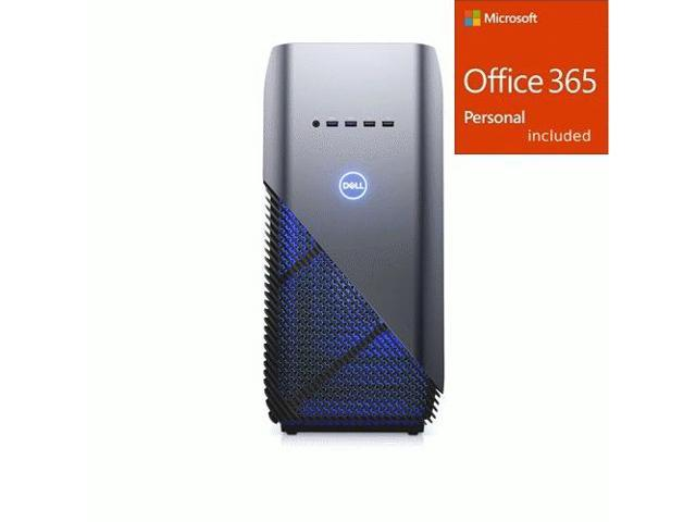 Dell Inspiron 5676 Gaming Desktop AMD Ryzen 7 16GB RAM 1TB HDD + Office 365 Bundle