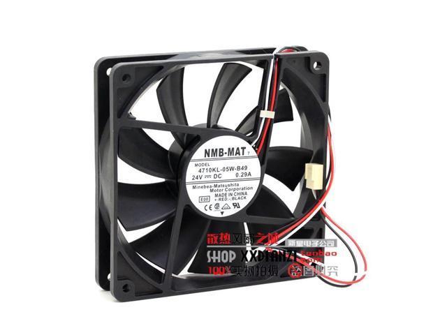 NMB 4710KL-05W-B49 fan 24V 0.29A 120*120*25mm 3pin