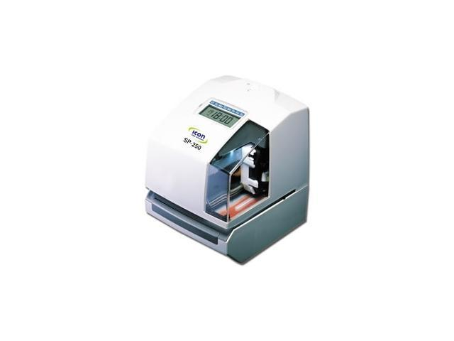 Sp 250 Electronic Time Clock Date Stamp Is A Multi Purpose Machine That Is Commonly Used For Payroll Job Costing Or As Document Stamper Free