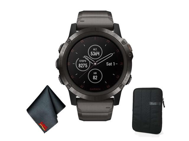 Garmin Fenix 5x Plus Sapphire Edition Multi Sport Training Gps Watch