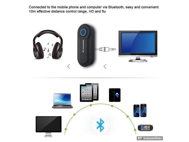 Wireless Bluetooth 4.0 3.5mm Stereo Music Audio Transmitter Sender Adapter