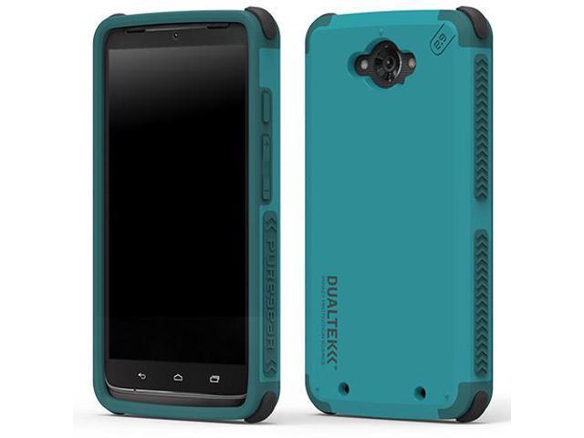 buy popular 08459 cea0f PureGear Dualtek Extreme Shock Blue Case for Motorola Droid Turbo XT1245  61012PG - Newegg.com