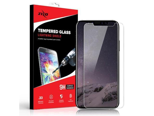 Zizo Glass Compatible with iPhone XR Tempered Glass Screen Protector Anti Scratch 9H Hardness Clear