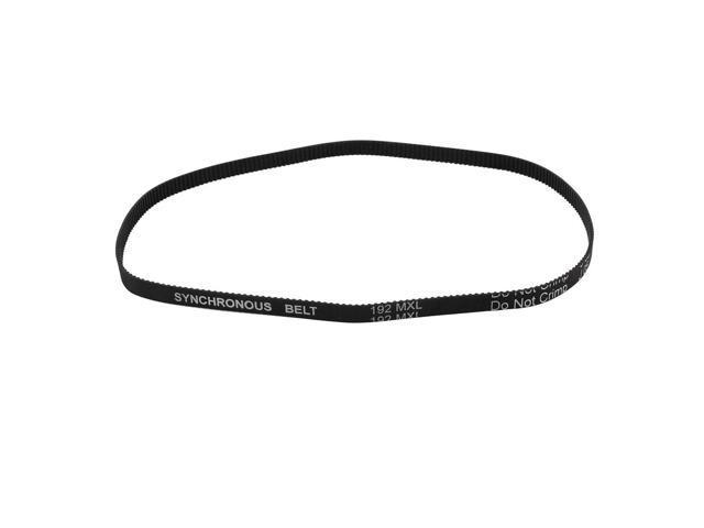 unique bargains 192mxl 025 6 4mm width 2 032mm pitch 240 teeth cnc timing belt for stepper motor