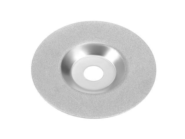 Bowl Shape Brazed Diamond Grinder Grinding Wheel Tool Grit 200 Black, 4-inch(100mm