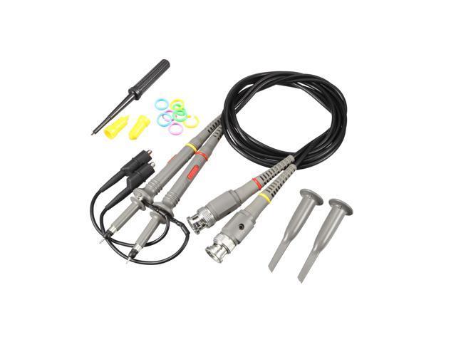 global bargains pair x1 x10 100mhz oscilloscope scope clip