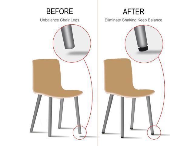 M6 x 10 x 16mm Leveling Feet Adjustable Leveler for Hotel Table Sofa Leg 20pcs