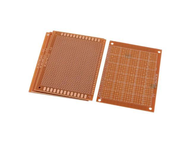 90x70mm single side copper coated brown printed circuit board