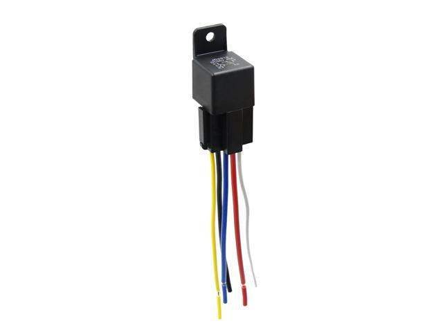 Incredible Dc 36V 40A Spdt Automotive Car Relay 5 Pin 5 Wires W Harness Wiring Digital Resources Xeirawoestevosnl