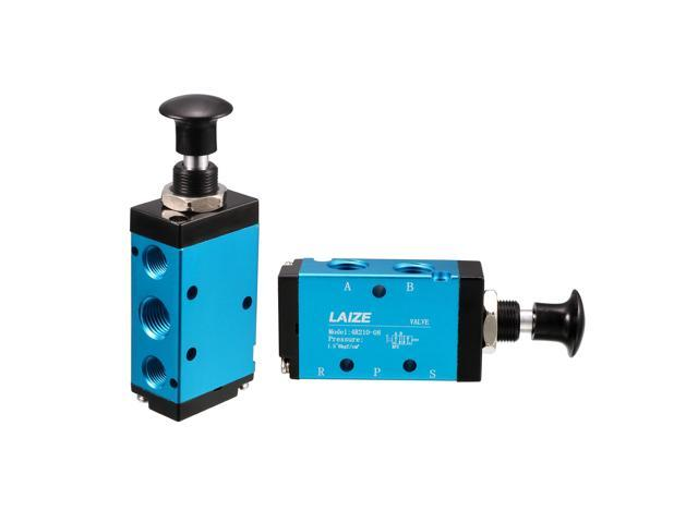 gaixample.org sourcing map Pneumatic Solenoid Valve 2 Position 5 ...