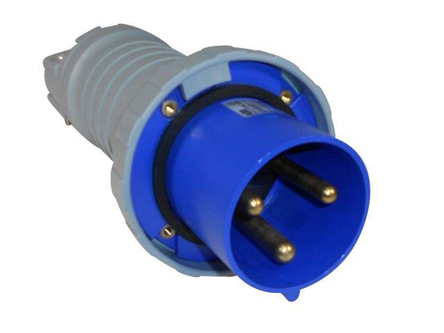 ABB - Russelstoll - ABB4125P6W - IEC Plug 125 Amp - 3 Pole 4 Wire - Iec Plug Wiring on atex plug wiring, terminal block wiring, dot plug wiring, nema plug wiring, semi plug wiring, icc plug wiring, samsung plug wiring, usa plug wiring,