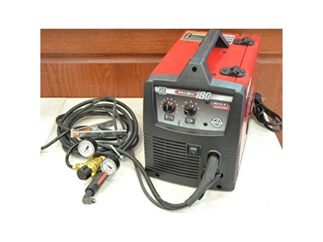 lincoln electric promig 180 welder 230volt mig fluxcored wire feed model  k24811 - Newegg com