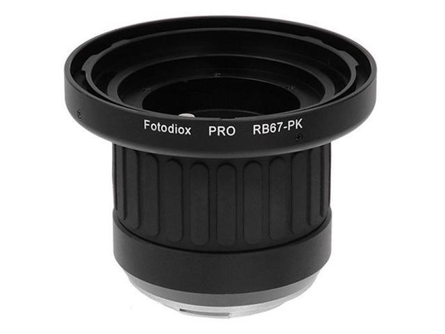 Fotodiox RB67-PK-Pro Pro Lens Mount Adapter - Mamiya RB67 Mount SLR Lens To  Pentax K Mount SLR Camera Body with Built in Focusing Helicoid -