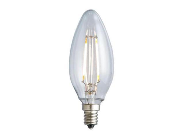 Archipelago Lighting Ltcb12c18024k1 Cb10 Nostalgic 180lm Candelabra Blunt 2w 25w 2400k E12 Dimming Bulb Clear Newegg