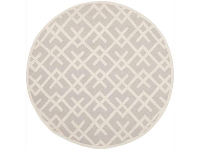 Safavieh Dhu552g 6r 6 Ft X 6 Ft Round Contemporary Dhurries