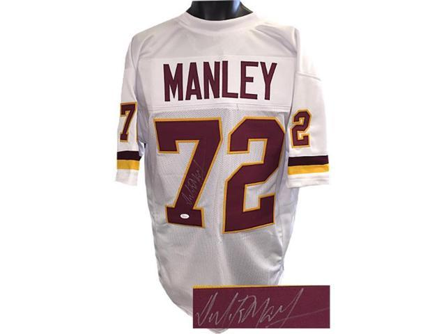new concept 8ffd1 44715 Dexter Manley signed White TB Custom Stitched Pro Style Football Jersey XL-  JSA Hologram - Newegg.com