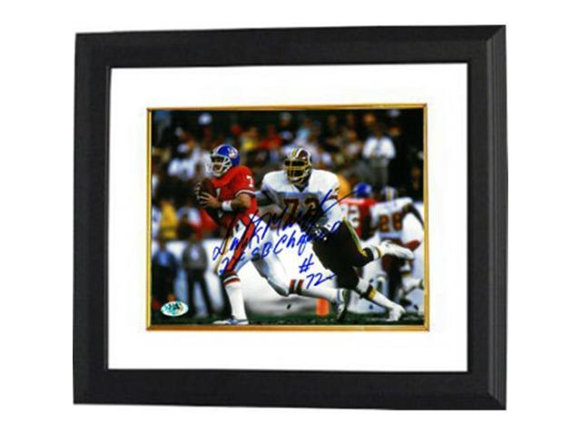 quality design df187 6f27f Dexter Manley signed Washington Redskins 8x10 Photo Custom Framed #72 2X SB  Champs - Newegg.com
