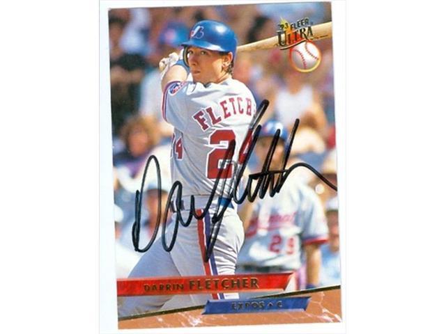 Autograph Warehouse 38436 Darrin Fletcher Autographed Baseball Card Montreal Expos 1993 Fleer Ultra No 67 Neweggcom