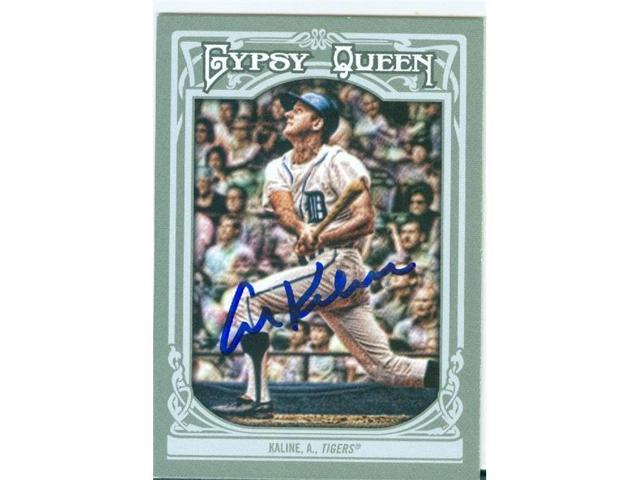 quality design c192c 4f01f Autograph Warehouse 246920 Al Kaline Autographed Baseball Card - Detroit  Tigers Hall of Fame 2013 Topps Gypsy Queen - No. 10 - Newegg.com