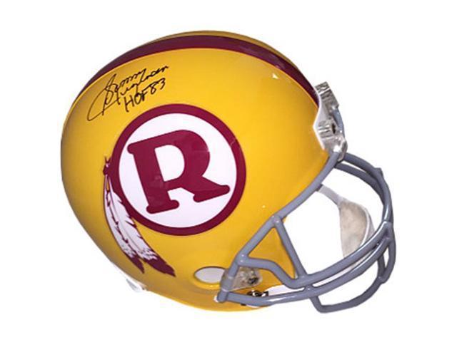 c11f2589f39 Sonny Jurgensen signed Washington Redskins Yellow TB Full Size Replica  Helmet HOF 83