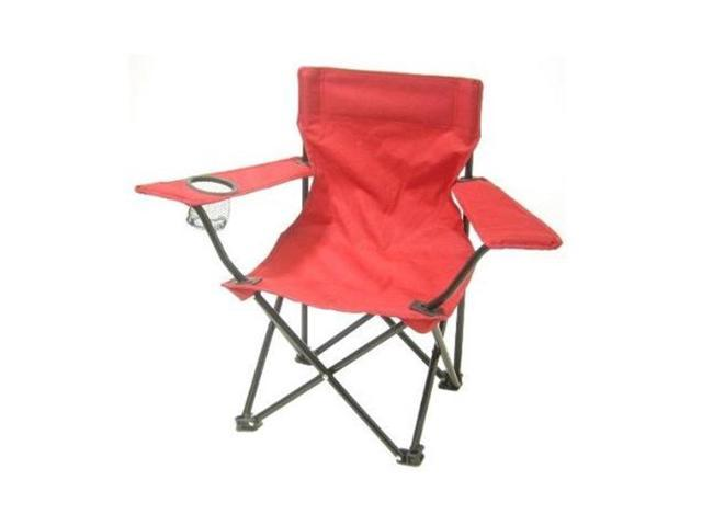 Astonishing Redmon 9006 Rd Folding Camp Chair With Matching Bag Red Theyellowbook Wood Chair Design Ideas Theyellowbookinfo