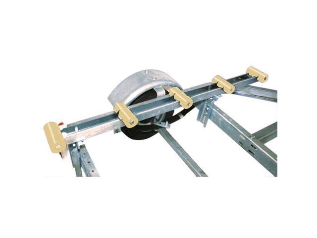 Tie Down Engineering 86117 4 ft  Rubber Roller Bunks - Black - Newegg com