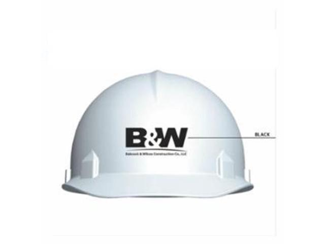 Kimberly-Clark Professional 138-24584 Custom Hard Hat Sc6 Pp2 Babcock -  White - Newegg com