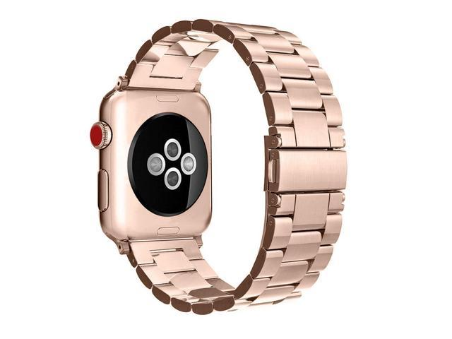half off 2fcbb 5e47c Fintie for Apple Watch Band 44mm 42mm, Premium Stainless Steel Metal Strap  Bracelet Compatible with Apple Watch Series 4 3 2 1 Sport Nike+ Edition -  ...