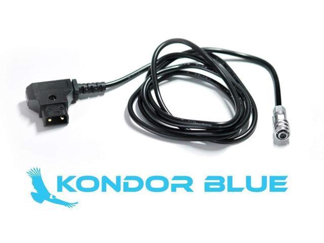 DTAP with Reinforcement to BMPCC4K Power Cable for Blackmagic Pocket Cinema Cam