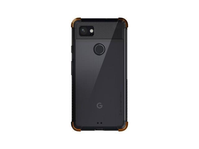 promo code 75044 8e370 Ghostek Google Pixel 2 XL Case, Covert Slim Shockproof Hybrid Armor  Protection | Clear Transparent Back with Fingerprint Cutout | Orange -  Newegg.com
